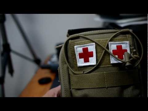MAXPEDITION FR-1 USED AS A FIRST AID KIT