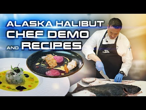 How To Fillet Halibut Fish | Frozen Fresh Seafood Recipes