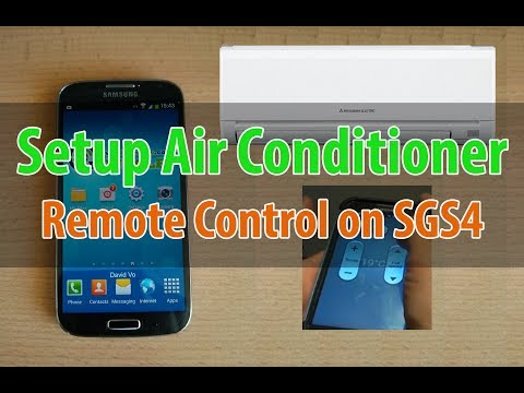 Samsung Galaxy S4: How to Setup Air Conditioner Remote Control