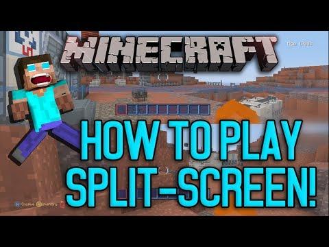 Minecraft PS3 & XBOX - Split-Screen Tutorial