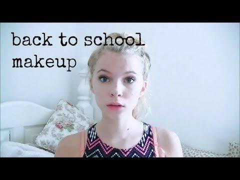 back to school year 10/ grade 9 makeup tutorial♥