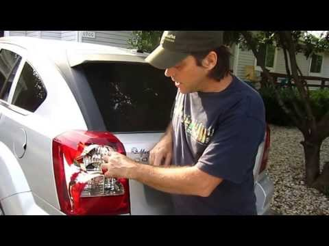 Dodge Caliber Tail Light Replacement (save money and don't buy it from the dealership!)