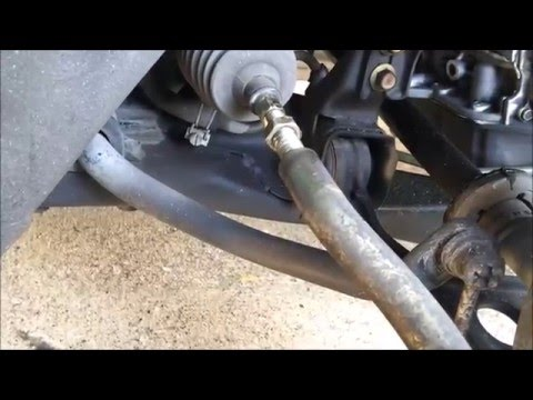 How to Replace tie rod ends on Honda Accord 2004 l Do It Yourself (DIY)