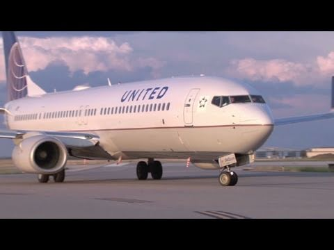 Airline stocks hit turbulence