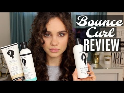 Bounce Curl Review: Light Creme Gel, Shampoo, and Conditioner