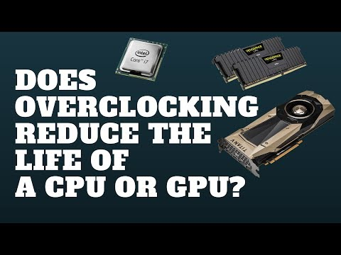 Does Overclocking Reduce The Life of A CPU or GPU?
