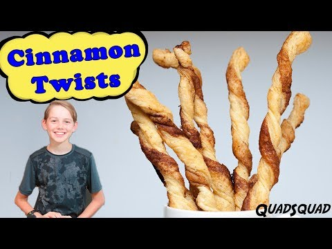Easy and Delicious Cinnamon Twists with Puff Pastry - Kitchen Adventures with Ethan
