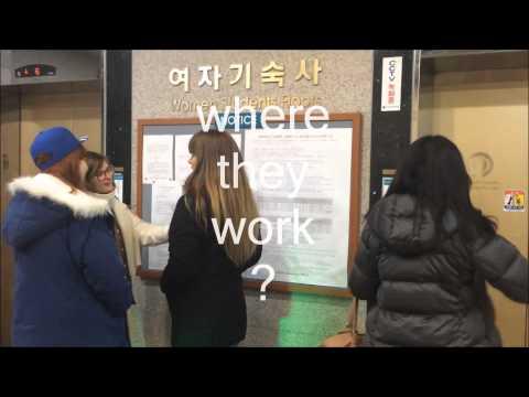 exchange students in Korea : part-time job