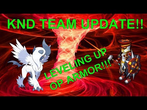 KND TEAM UPDATE AND LEVELING UP T2 OP ARMOR!!!!!!!- Knights and Dragons