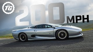 PREVIEW: Attempting 200mph in the Jaguar XJ220 | Top Gear: Series 29