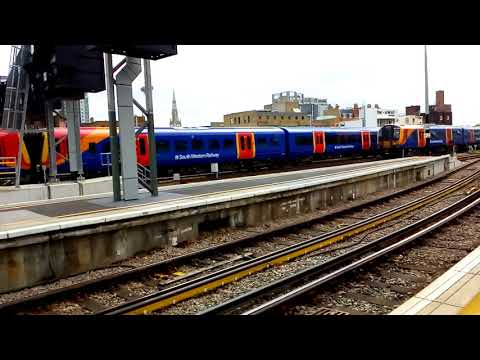 Trains at: London Waterloo - Part 4 - SWML - 28/8/18