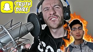 I ROASTED RICEGUM   SNAPCHAT TRUTH OR DARE!!