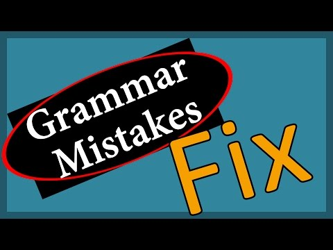 How To Correct English Grammar Mistakes Online?