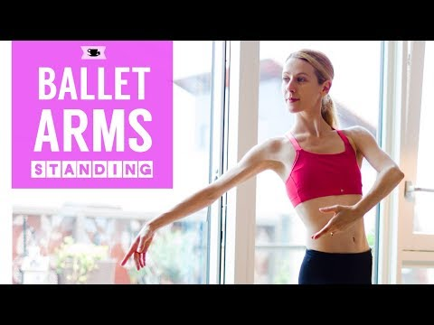 Strong & Sexy Ballerina Arms Workout Standing