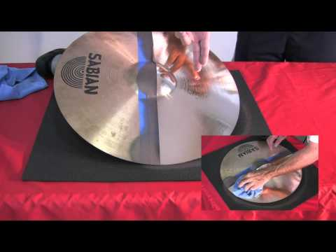 CYMBAL DOCTOR PROFOUND NEW CYMBAL CLEANING METHOD!