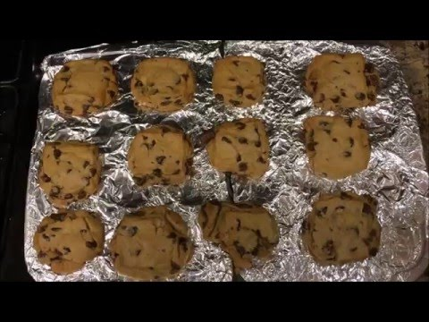 Bake Chocolate Chip Cookies using Store Bought Dough