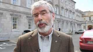Gerry Adams Calls For Release Of John Downey