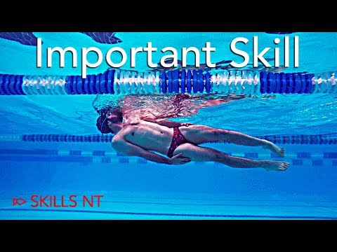 Improve your backstroke technique with the most underrated skill of the stroke