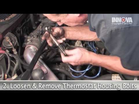 How to change Thermostat and Gasket - 1999 Honda Civic