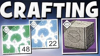 Destiny 2 - How To Craft Weapons Easy !!