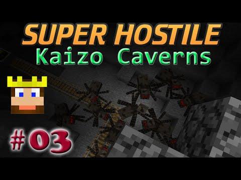 Super Hostile - Kaizo Caverns: Ep 03 - Take Out Those Spawners!