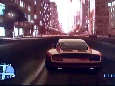 gta 4 gameplay (sports car road test)