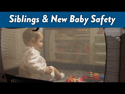 Siblings and New Baby Safety | CloudMom
