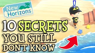 Animal Crossing New Horizons: 10 SECRET DETAILS You STILL Don't Know (Fun ACNH Tips You Should Know)