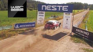 WRC - Neste Rally Finland 2018: DJI Aerial Analysis