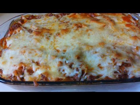 Cheesy Pasta Bake RECIPE | ThickChickCooks