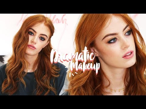 DRAMATIC EVENING/PARTY MAKEUP TUTORIAL | MsRosieBea