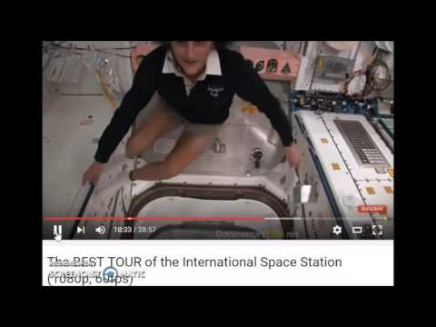 TOILETS  IN SPACE  ISS VERY  CLEAN OUTHOUSE