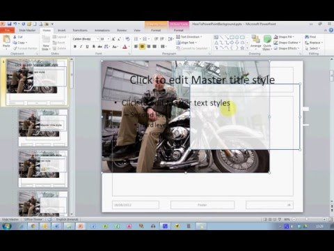 How To... Use Your Own Photos as a Slide Background in PowerPoint