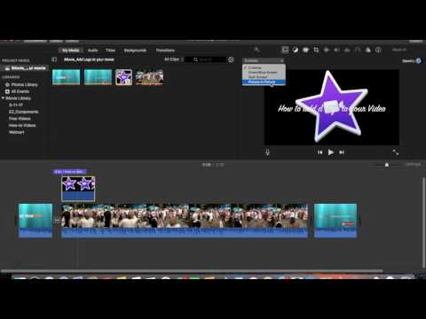 Add a Logo to your Video in iMovie