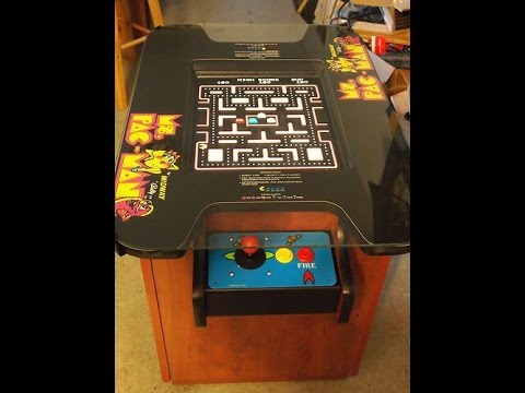 Ms Pacman Cocktail Table Replica Build - Part #1.
