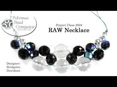 RAW Necklace (Tutorial)