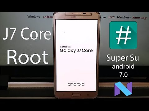 How to Root/ Install TWRP recovery on Samsung Galaxy J7 Core (android 7.0)