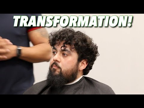 Barber Transformation | Brush Back Bald Fade in REAL TIME