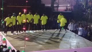 Beat Crackers Free Style Dance || Tata College Saraswati Puja , Chaibasa 2020.  On Public Demand.