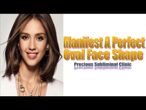 Get Your Desired Oval Face Shape - 3rd Formula [Affirmation+Frequency] - INSTANT RESULTS