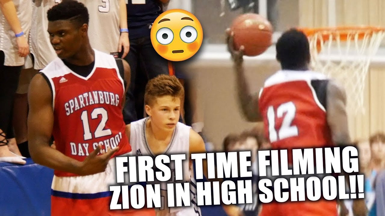 ZION WILLIAMSON WENT CRAZY THE FIRST TIME I EVER FILMED HIM IN HIGH SCHOOL!! | Surpassed The Hype