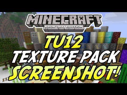 Minecraft (Xbox 360) : TU12 Update - Texture Pack SCREENSHOT + Cert testing Info!