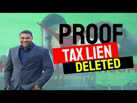 How to Remove Tax Liens off your credit Report Part 2