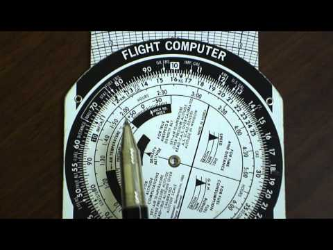 E6B Flight Computer: Kilometers to Statue or Nautical Miles