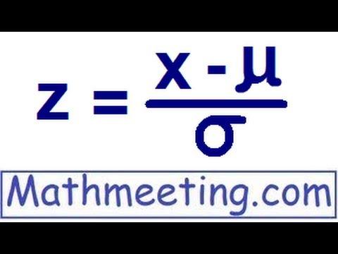 Z scores - Statistics