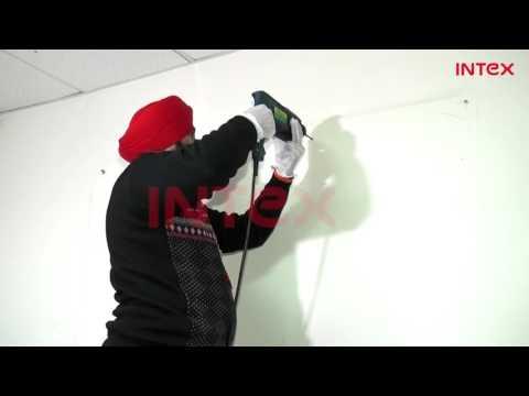 Split AC Indoor Unit Mounting Plate Installation process  Hindi