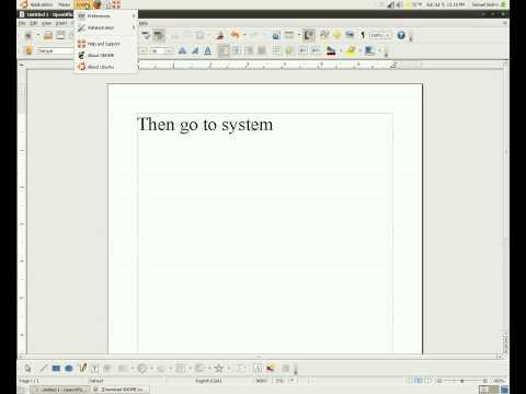 How to Change/Customize your ubuntu 9.04 cursor