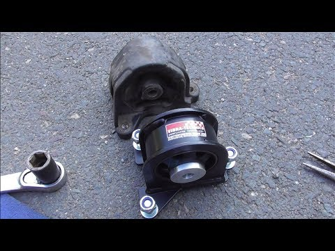 T2EP3 Honda Civic Type R Part 20 : Gearbox and Rear Engine Mounts Reconditioned Wheels