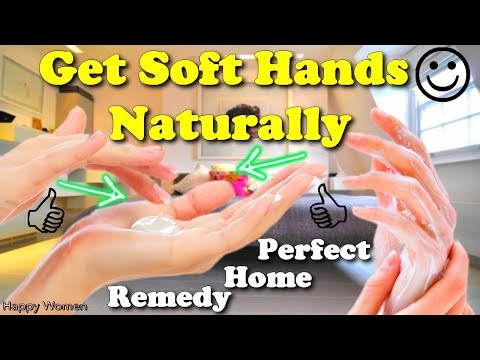 perfect home remedy to get soft hands naturally