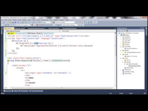 Part 66 Check uncheck all checkboxes with another single checkbox using jquery.mp4